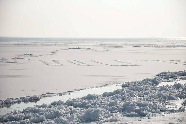 Wall Art - Photograph - Frozen Lake by David Bearden