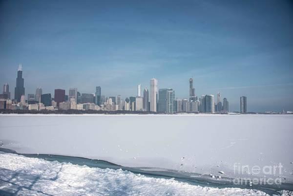 Wall Art - Photograph - Frozen Lake Michigan by David Bearden