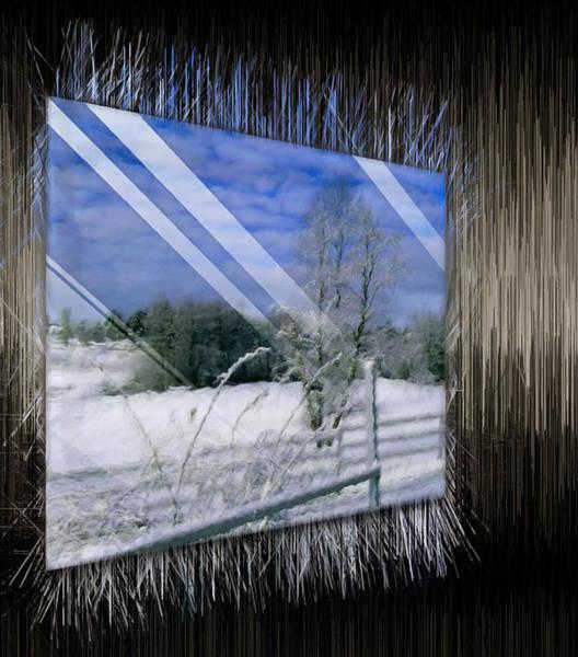 Digital Art - Frozen Landscape by Mario Carini