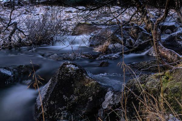 Frozen River II Art Print