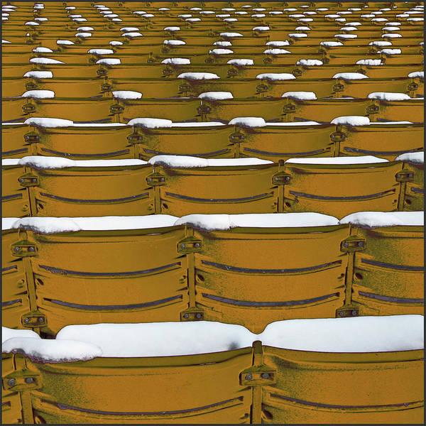 Auditorium Photograph - Frozen Seats by Pannaphotos