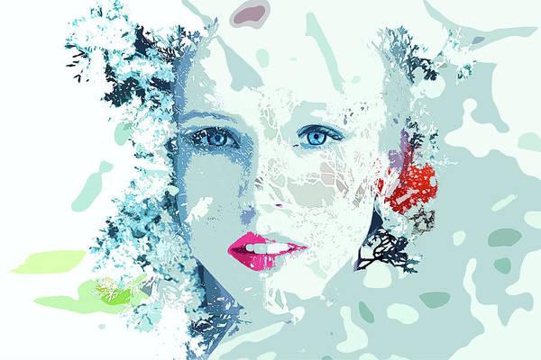 Frozen - Snow Queen Art Print