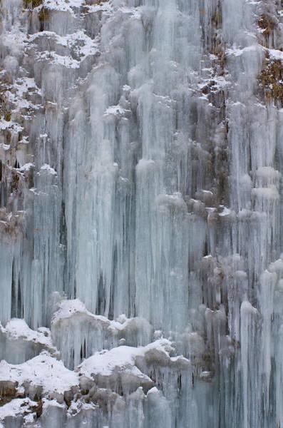 Japan Photograph - Frozen Waterfall by Nag#12@nagano japan