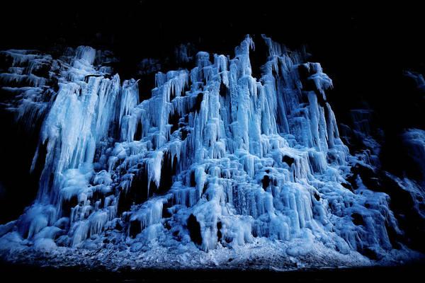 Wall Art - Photograph - Frozen Waterfall by Pelo Blanco Photo
