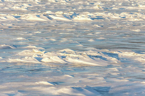 Photograph - Frozen Waves by Framing Places