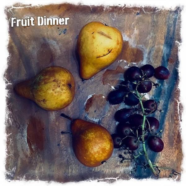 Photograph - Fruit Plate by Alexander Fedin