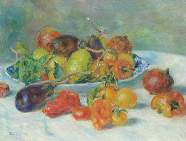 Painting - Fruits Of The Midi by Auguste Renoir