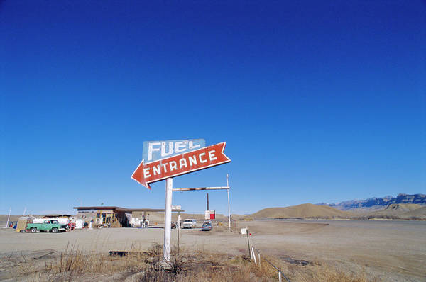 Wall Art - Photograph - Fuel Entrance, Usa by Neil Emmerson / Robertharding
