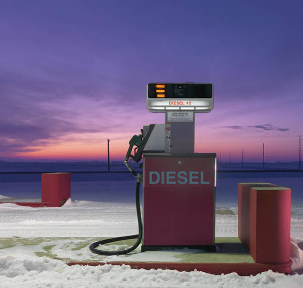 Wall Art - Photograph - Fuel Pump On Deserted Gas Station by Mecky