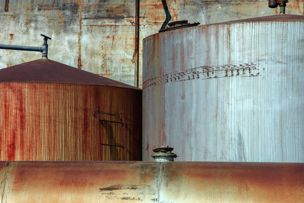 Wall Art - Photograph - Fuel Tanks by Todd Klassy