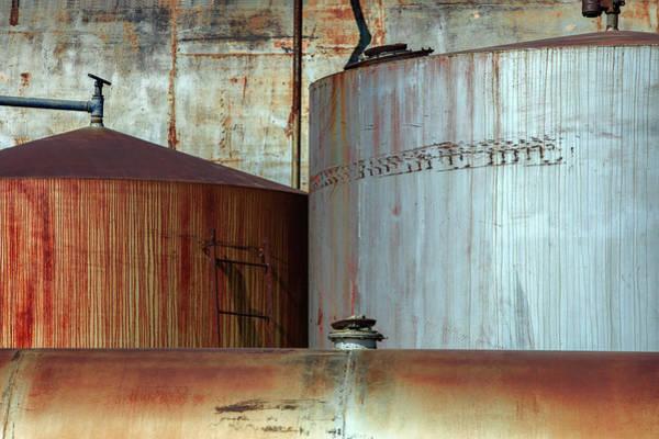 Photograph - Fuel Tanks by Todd Klassy