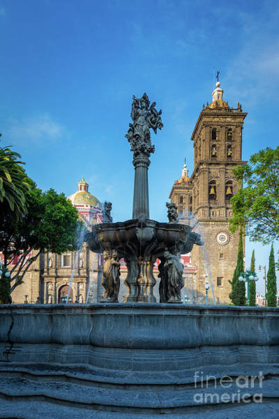 Photograph - Fuente De Puebla by Inge Johnsson