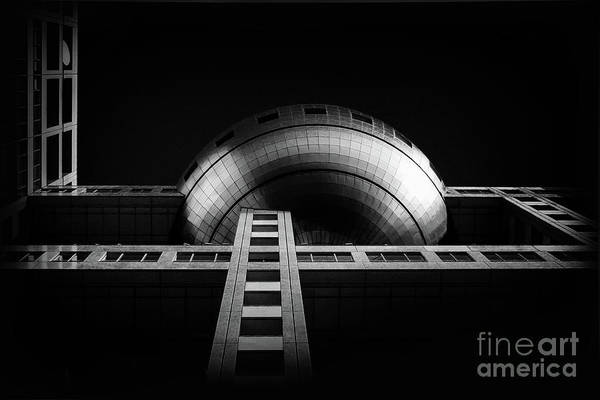 Wall Art - Photograph - Fuji Tv Building In Tokyo by Delphimages Photo Creations