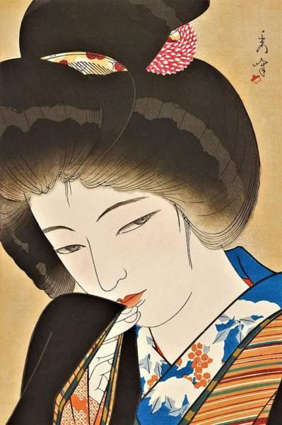 Wall Art - Painting - Fujo Yodai, Yuki Moyoi by Yamakawa Shuho