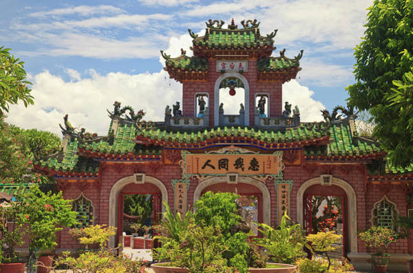 Chinese Language Photograph - Fukian Assembly Hall, Hoian, Nha Trung by Gallo Images/danita Delimont