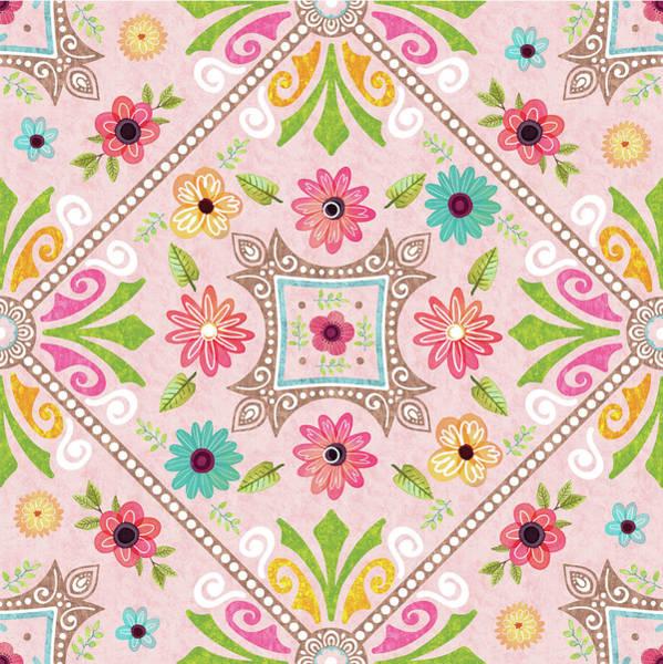 Wall Art - Digital Art - Full Bloom Pattern IIi by Nd Art