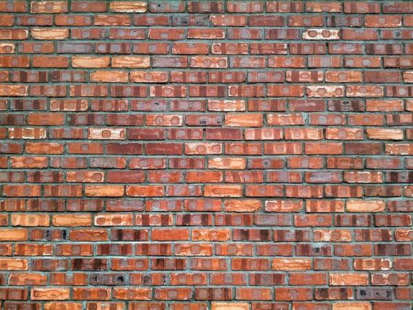 Brick Wall Photograph - Full Frame Of Wall by Larrie Chua / Eyeem