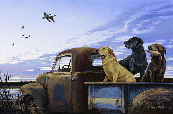 Painting - Full Load by Anthony J Padgett