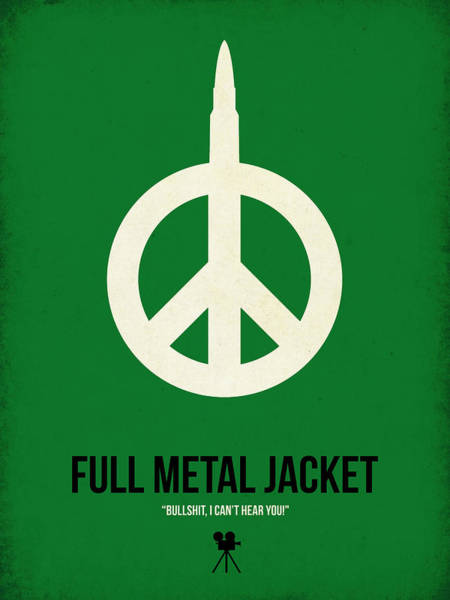 Wall Art - Digital Art - Full Metal Jacket by Naxart Studio
