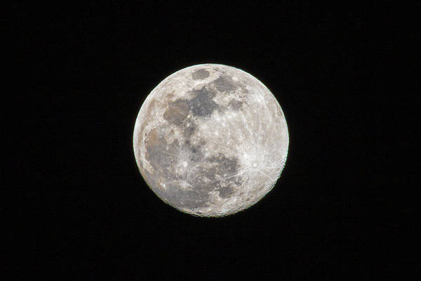 Photograph - Full Moon by Allin Sorenson