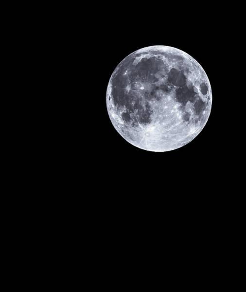 Photograph - Full Moon by John Dakin