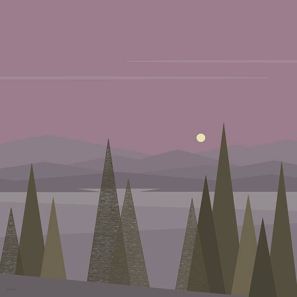 Digital Art - Full Moon  by Val Arie