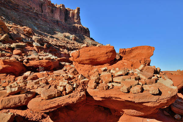 Photograph - Full Plates Of Red Rocks In Utah by Ray Mathis