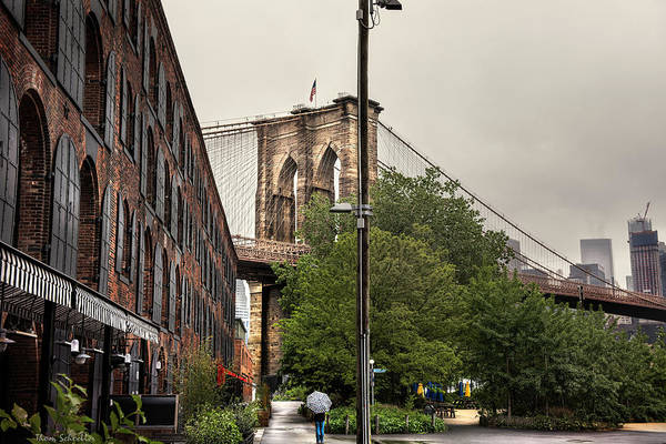 Wall Art - Photograph - Fulton Ferry Park by T-S Fine Art Landscape Photography
