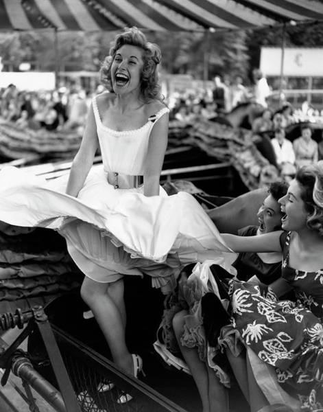 Photograph - Fun Fair Fun by Terry Fincher
