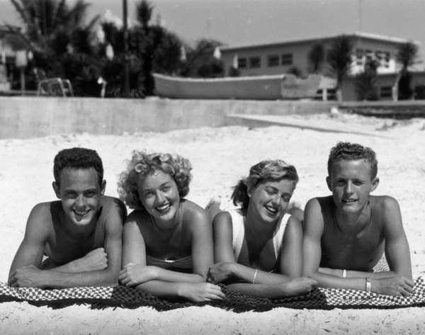 Wall Art - Photograph - Fun In The Sun by Camerique Archive
