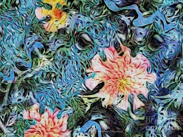 Digital Art - Fun With Flowers by Kathie Chicoine