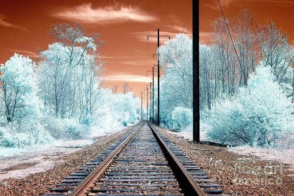 Photograph - Funky Tracks Infrared by John Rizzuto