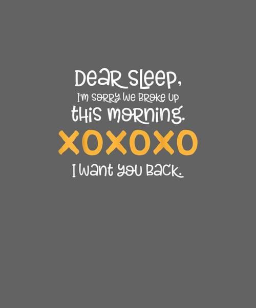 Wall Art - Digital Art - Funny I Want You Ladies Sleep Shirt Womens Pajama Gift T-shirt by Unique Tees