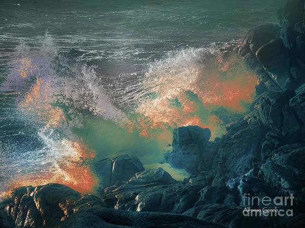 Photograph - Furia De Neptuno by Alfonso Garcia