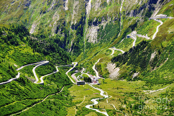 Wall Art - Photograph - Furka Pass, Switzerland by Alexander Chaikin