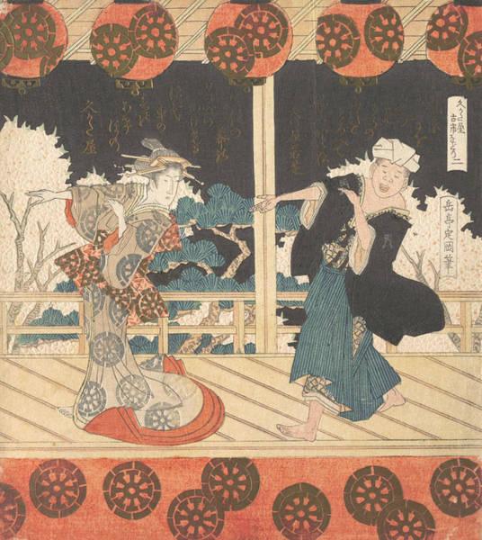 Relief - Furuichi Dance - Number 2 by Yashima Gakutei