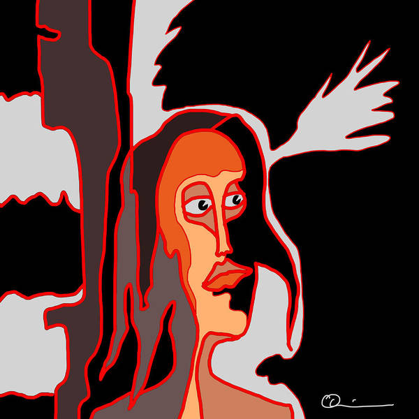 Digital Art - Fury by Jeff Quiros