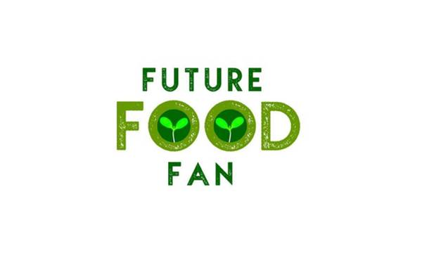 Drawing - Future Food Fan Centered - Two Greens by Charlie Szoradi