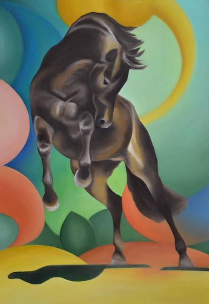 Painting - Future Horse by Francesca Provetti