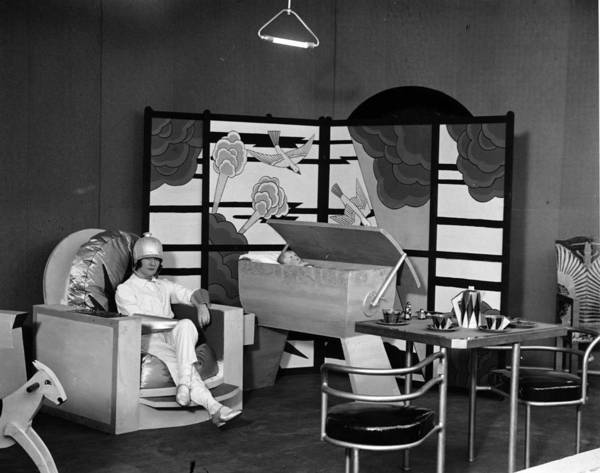 Exhibition Photograph - Futuristic Nursery by Miller
