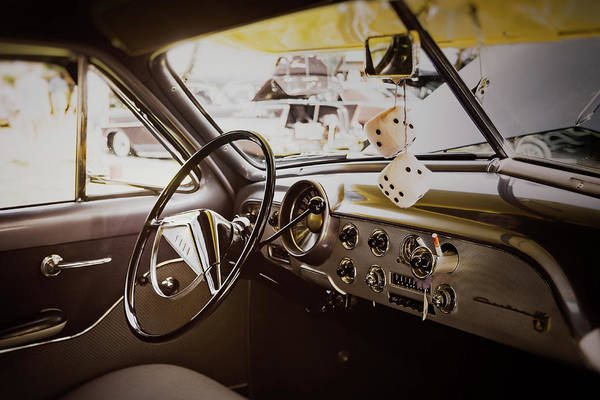 Vehicles Wall Art - Photograph - Fuzzy Dice by Scott Norris