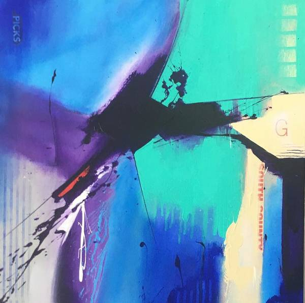 Wall Art - Mixed Media - G by Richard Bostrom