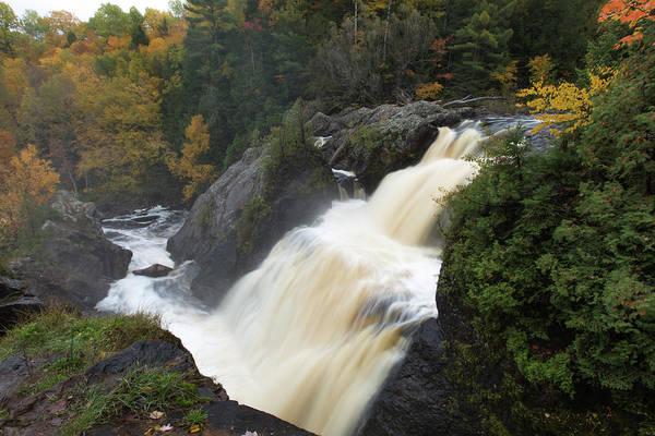 Upper Wall Art - Photograph - Gabbro Falls 1 by Heather Kenward