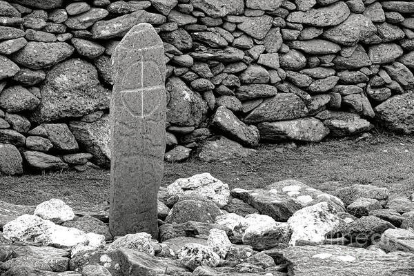 Wall Art - Photograph - Gaelic Grave by Olivier Le Queinec