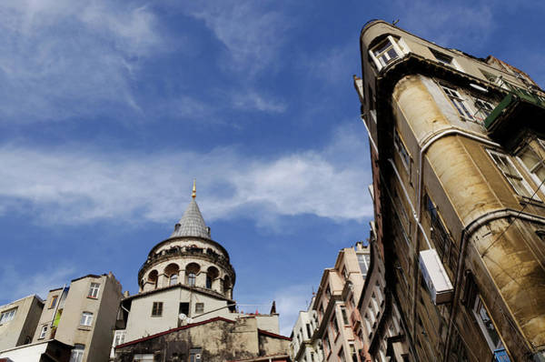 Galata Photograph - Galata Tower In Istanbul by Istanbulimage