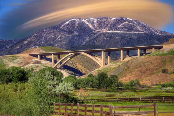 Wall Art - Photograph - Galena Creek Bridge by Donna Kennedy