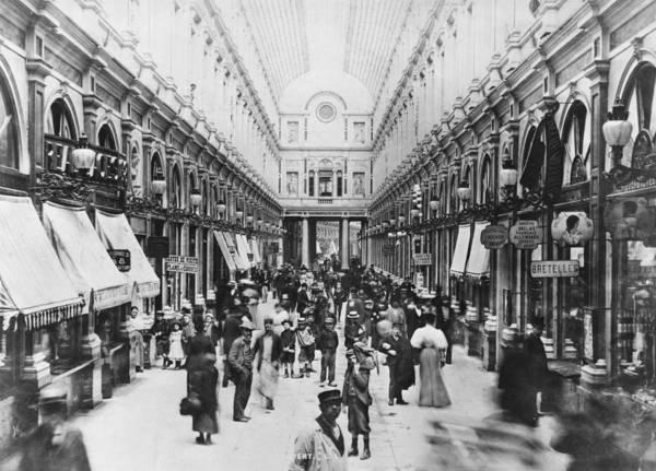 Belgium Photograph - Galerie Saint-hubert by Hulton Archive