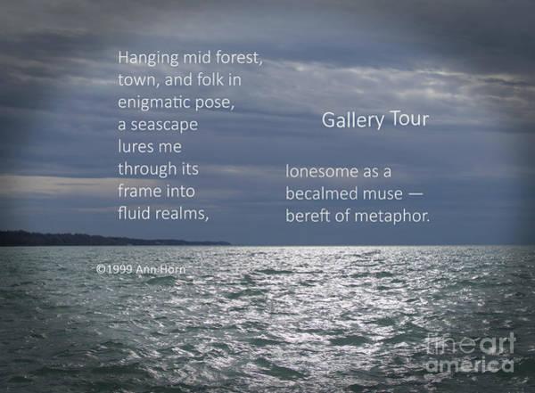 Photograph - Gallery Tour by Ann Horn