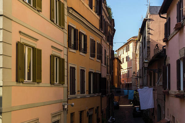 Photograph - Gallivanting Around In Rome Italy - Real Life In Trastevere by Georgia Mizuleva