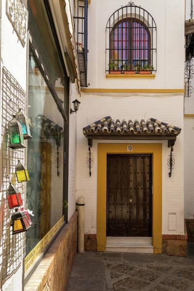 Photograph - Gallivanting Around Seville Is Pure Charm - Souvenir Shop In Barrio Santa Cruz by Georgia Mizuleva